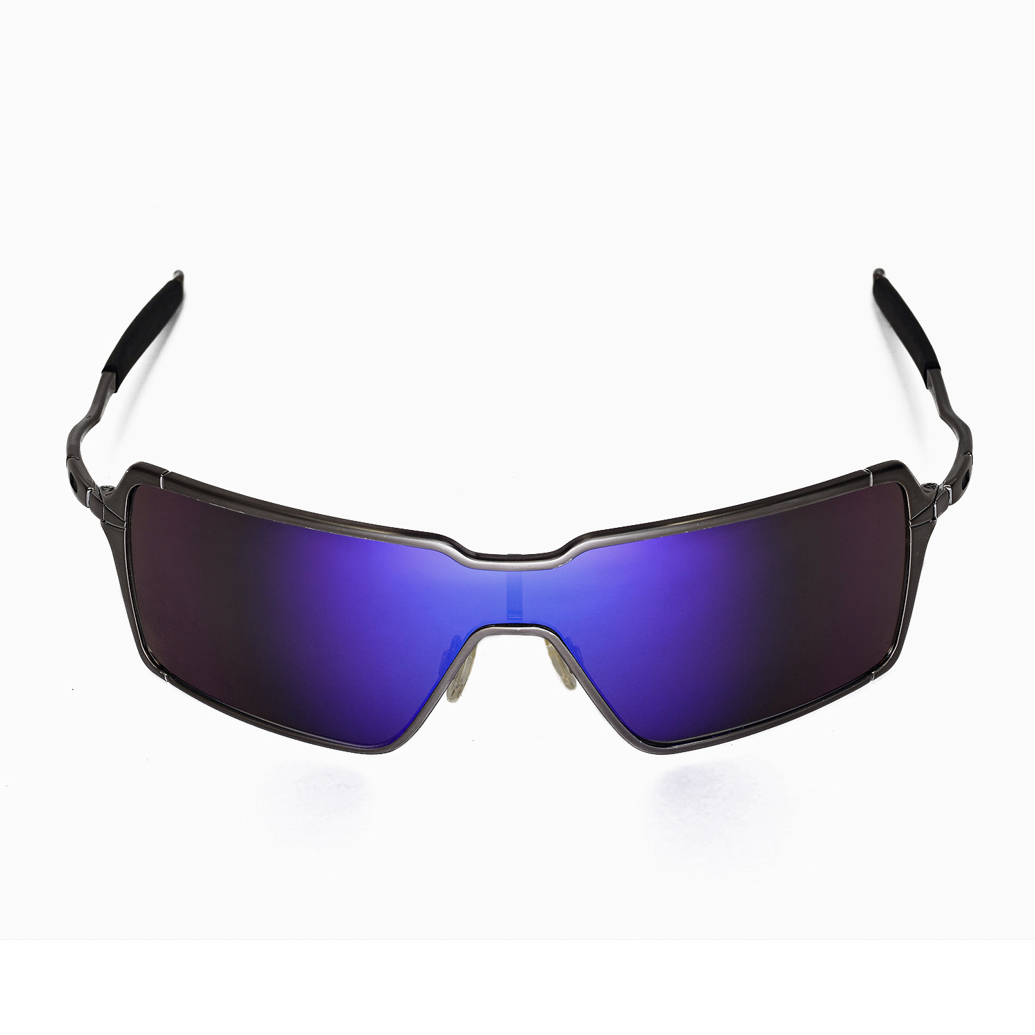 oakley probation sunglasses for sale  walleva polarized purple lenses for oakley probation x1; walleva microfiber lens cleaning cloth x1