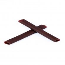 Walleva Brown Rubber Kit For Oakley Jawbone/Split Jacket/Racing jacket/Straight Jacket II Sunglasses