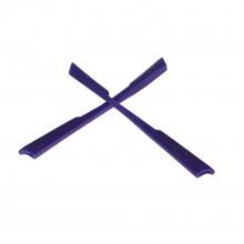 Walleva Purple Earsocks For Oakley M2 Sunglasses
