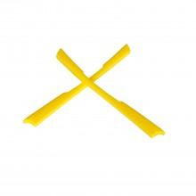 Walleva Yellow Earsocks For Oakley M2  Sunglasses