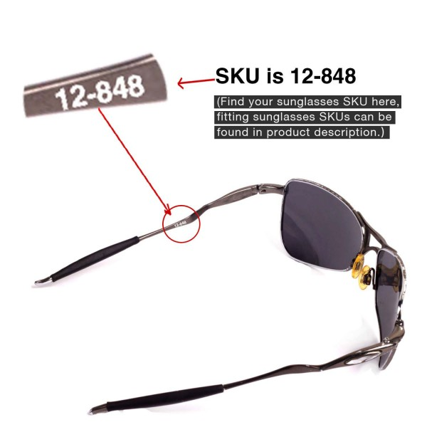 c598a0ea46 Walleva Replacement Lenses for Oakley Crosshair 1.0 (2005-2006 version)  Sunglasses - Multiple
