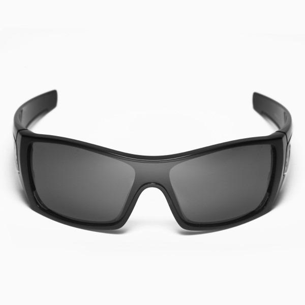 replacement lenses for oakley batwolf sunglasses  walleva polarized black replacement lenses for oakley batwolf sunglasses. color : polarized lenses : black