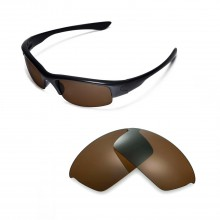 Walleva Replacement Lenses for Oakley Bottlecap Sunglasses - Multiple Options Available (Brown Coated - Polarized)