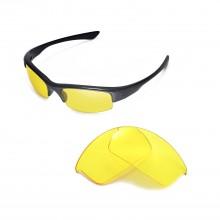 Walleva Yellow Replacement Lenses for Oakley Bottlecap Sunglasses