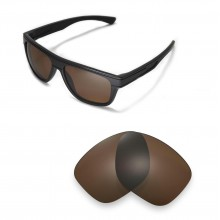 New Walleva Polarized Brown Replacement Lenses For Oakley Breadbox Sunglasses