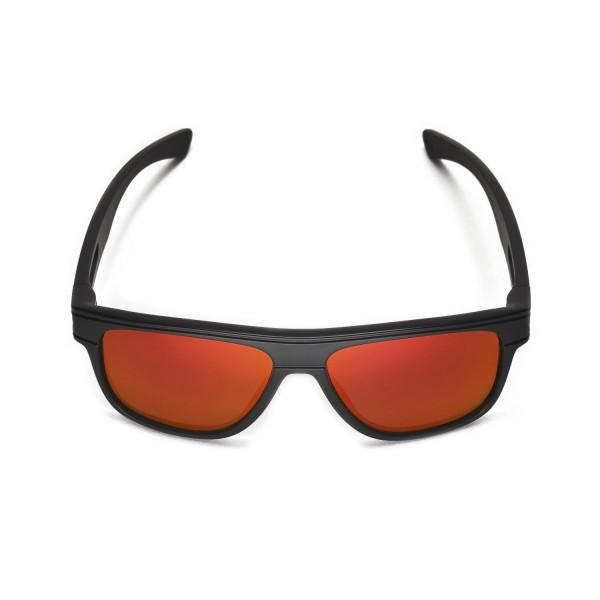 dc9115de5f New Walleva Polarized Fire Red + Ice Blue Replacement Lenses For Oakley  Breadbox Sunglasses