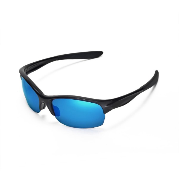 commit sunglasses by oakley  new walleva polarized ice blue replacement lenses for oakley commit sq sunglasses