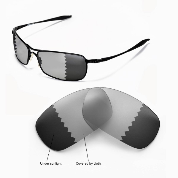 oakley crosshair 2.0 polarized sunglasses  walleva polarized transition/photochromic replacement lenses for oakley crosshair 2.0 sunglasses
