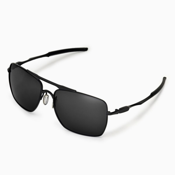 polarized eyeglasses 8lik  New Walleva Polarized Black Replacement Lenses for Oakley Deviation  Sunglasses
