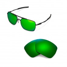 New Walleva Polarized Emerald Replacement Lenses for Oakley Deviation Sunglasses