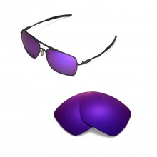 New Walleva Polarized Purple Replacement Lenses for Oakley Deviation Sunglasses