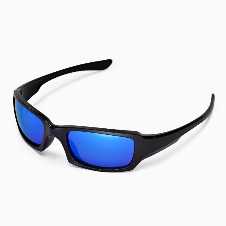 walleva polarized ice blue replacement lenses for oakley. Black Bedroom Furniture Sets. Home Design Ideas