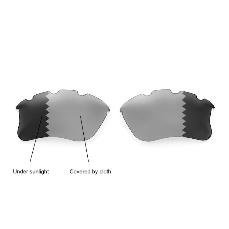 0706c90345 Oakley Flak Jacket Prescription Transition Lenses