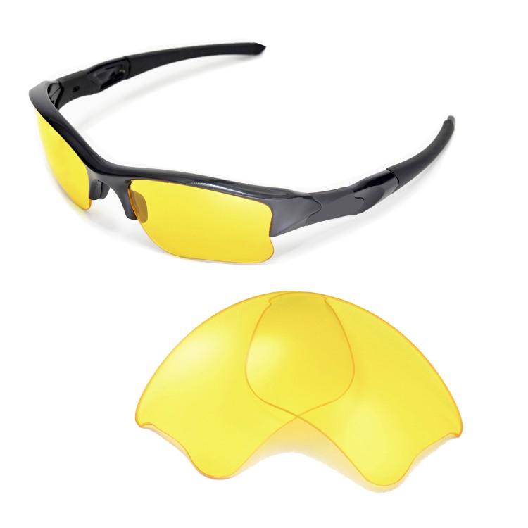 Oakley Flak Jacket Yellow Lenses