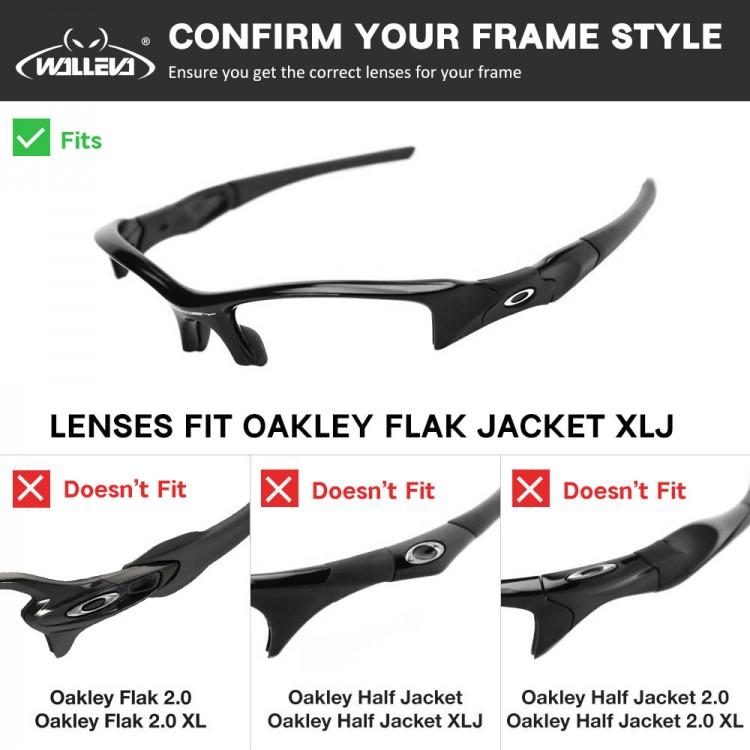 Oakley Flak Jacket Xlj Earsocks