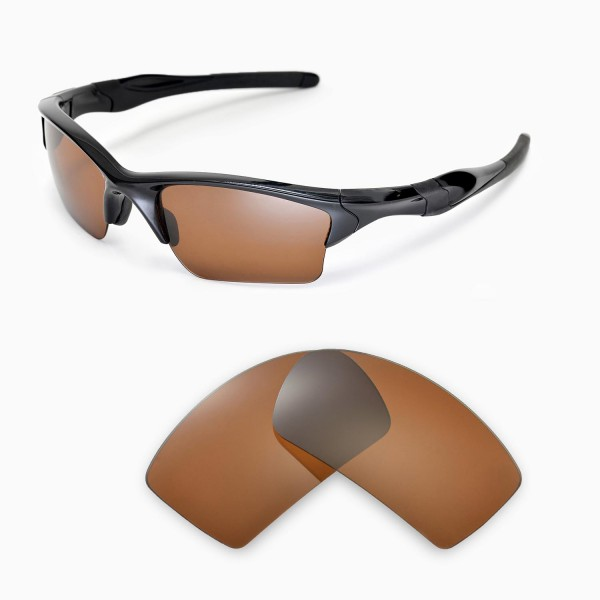 oakley gascan polarized replacement lenses sy79  Walleva Polarized Brown Replacement Lenses for Oakley Gascan Sunglasses