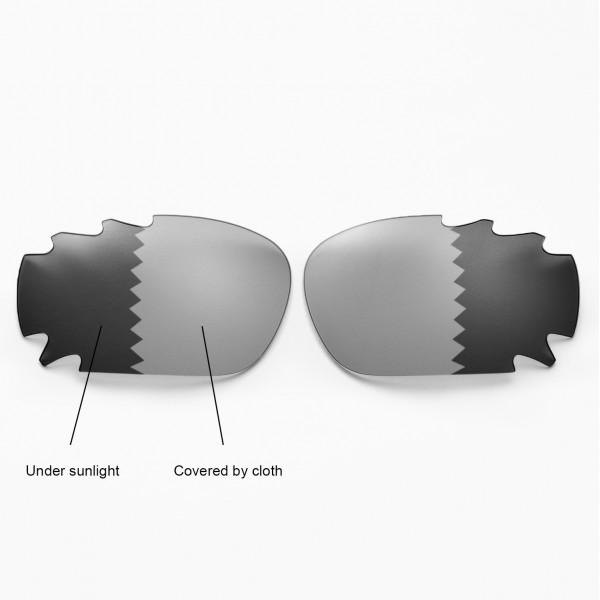 17c108b35c Walleva Polarized Transition Photochromic Vented Lenses For Oakley Radar  Path