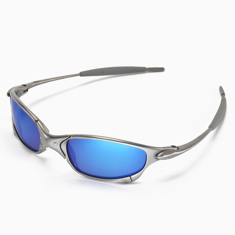 Walleva Ice Blue Replacement Lenses For Oakley Juliet
