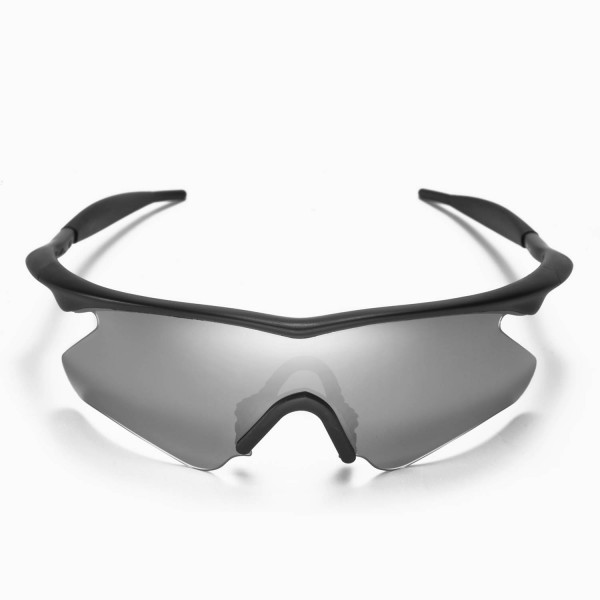 620cd6246c Walleva Replacement Lenses With Black Nosepad for Oakley M Frame Heater  Sunglasses - Multiple .