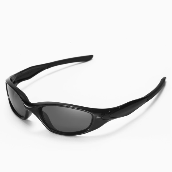 oakley minute 2.0 sunglasses black  walleva replacement lenses for oakley minute 2.0 sunglasses multiple options available (black polarized)