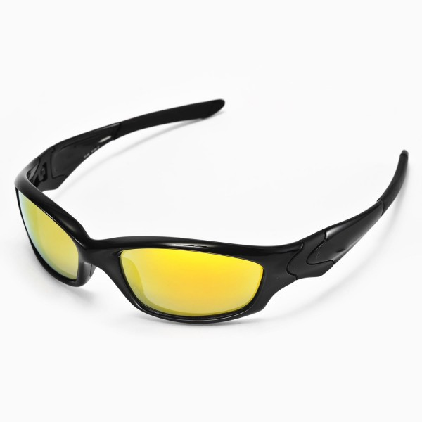 Oakley Straight Sunglasses  walleva replacement lenses for oakley straight jacket sunglasses