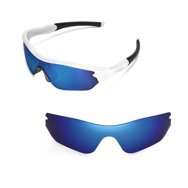 oakley radar safety glasses vd05  New Walleva Ice Blue Replacement Lenses For Oakley Radar Edge Sunglasses