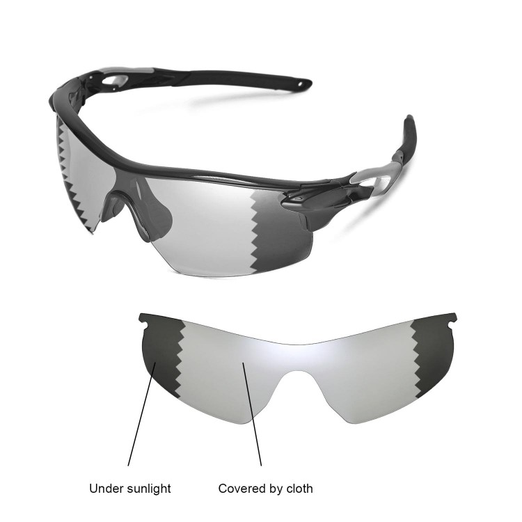 oakley radar pitch polarized replacement lenses