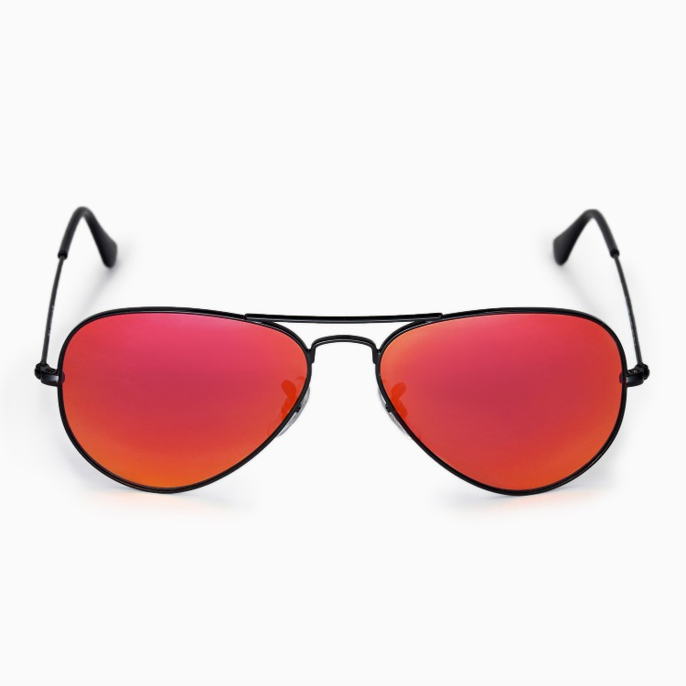 Ray Ban Red Glasses