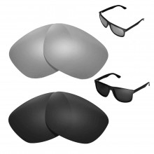 New Walleva Polarized Titanium + Black Replacement Lenses For Ray-Ban RB4147 60mm Sunglasses