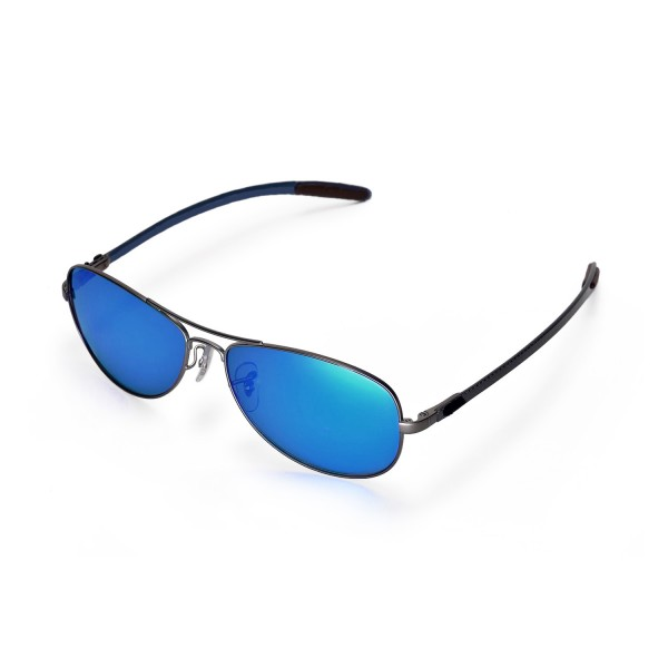 ray ban 8301 hacr  New Walleva Polarized Ice Blue Lenses For Ray-Ban RB8301 59mm Sunglasses