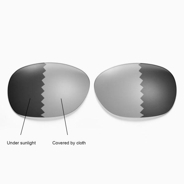 135c07fe9cf New Walleva Polarized Transition Photochromic Lenses For Ray-Ban Wayfarer  RB2132 55mm Sunglasses