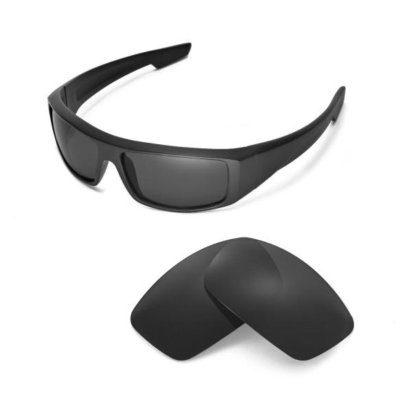 1367ef41c18 Walleva Polarized Black Lenses For Spy Optic Logan Sunglasses