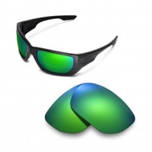 Walleva Polarized Emerald Lenses For Oakley Style Switch Sunglasses
