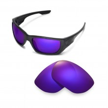 Walleva Polarized Purple Lenses For Oakley Style Switch Sunglasses