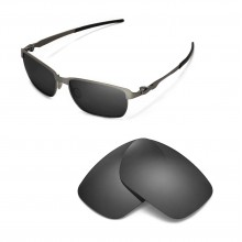 New Walleva Polarized Black Replacement Lenses For Oakley Tinfoil Sunglasses