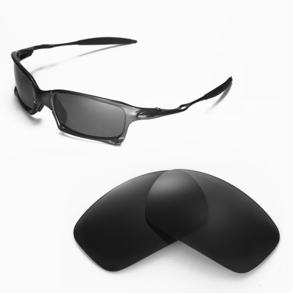 oakley x squared 56y5  Walleva Replacement Lenses for Oakley X Squared Sunglasses