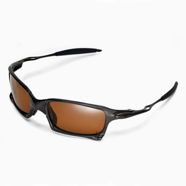 oakley x squared sunglasses  walleva replacement lenses for oakley x squared sunglasses multiple options available (brown coated polarized)