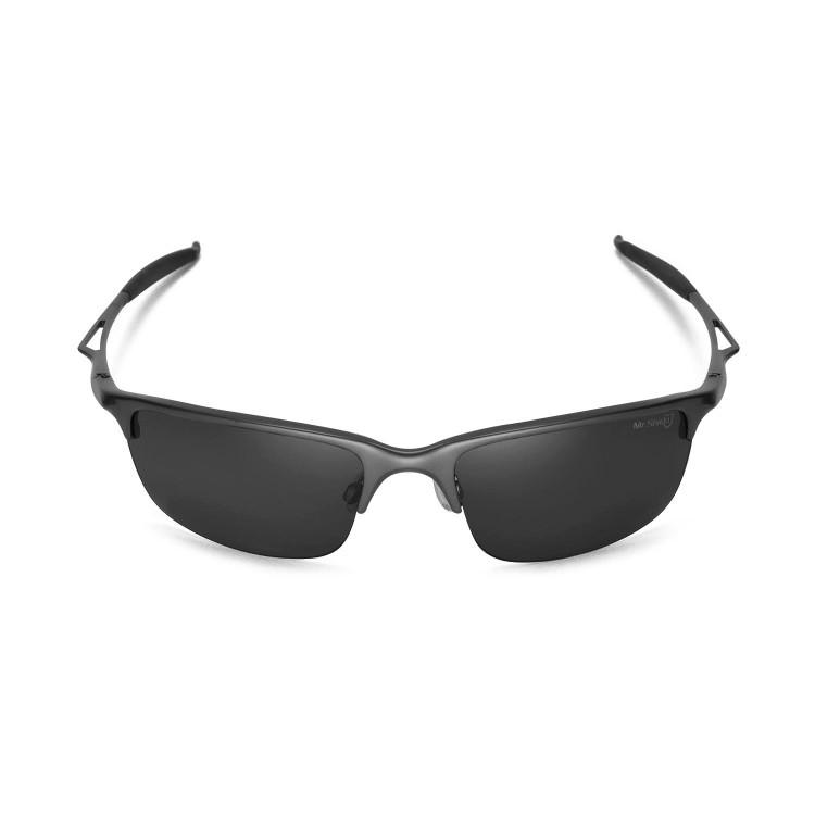 oakley white glasses b0io  oakley half wire polarized sunglasses