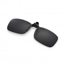 Walleva Polarized Black Clip-on Flip-up Sunglasses Lenses