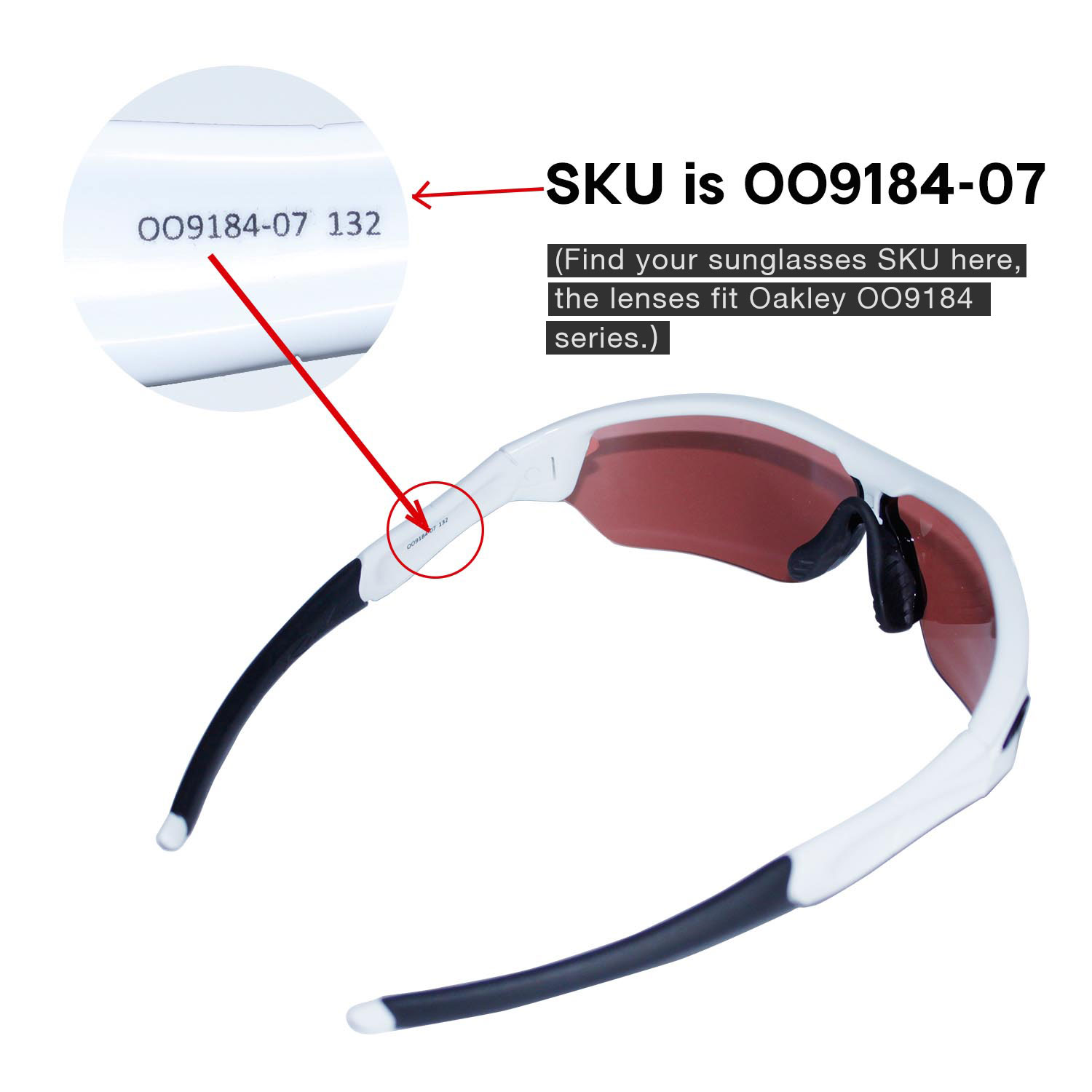 e823dbcb57 New Walleva Polarized Titanium Vented Lenses For Oakley Radar Path ...
