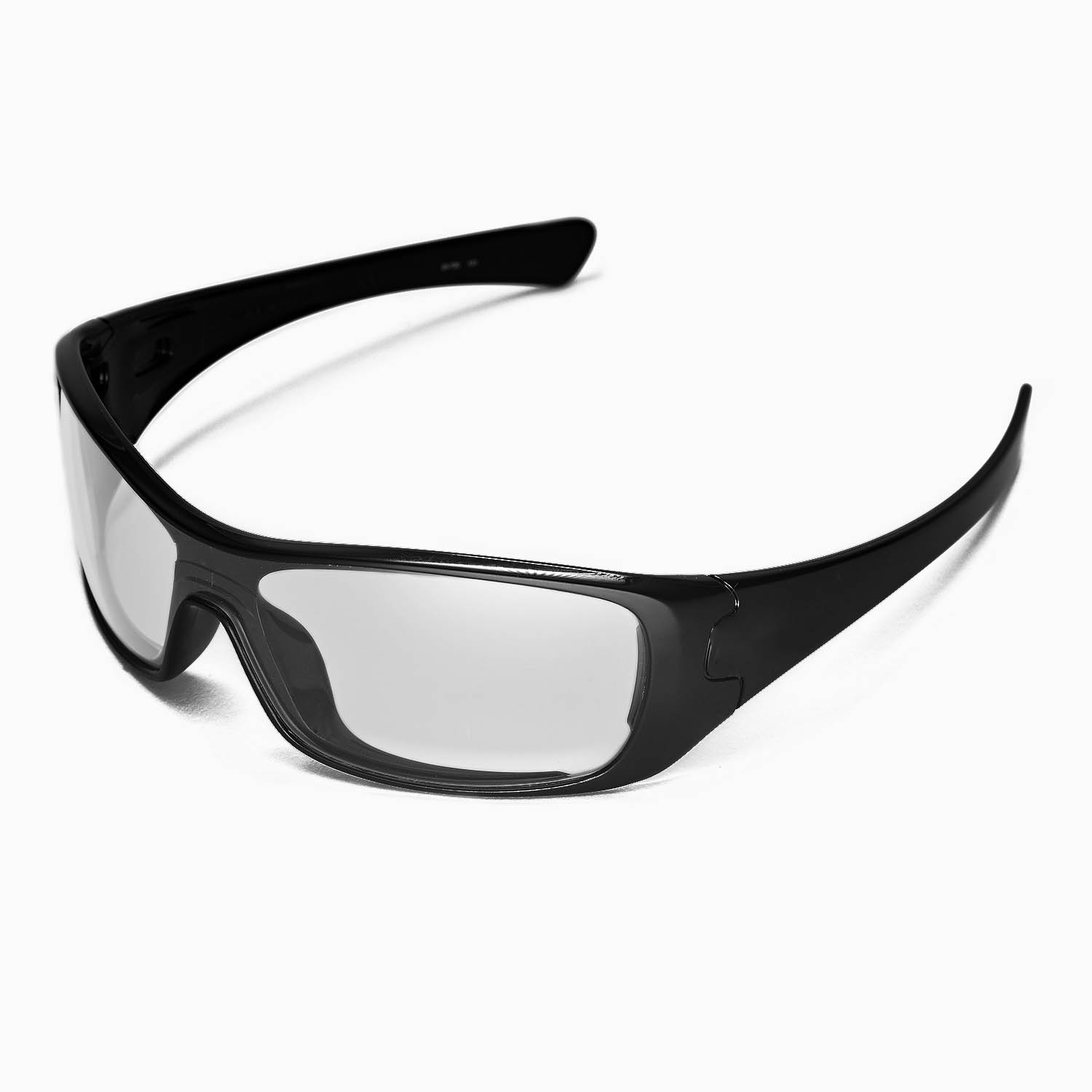 oakley glasses clear lens  new walleva clear lenses for oakley antix