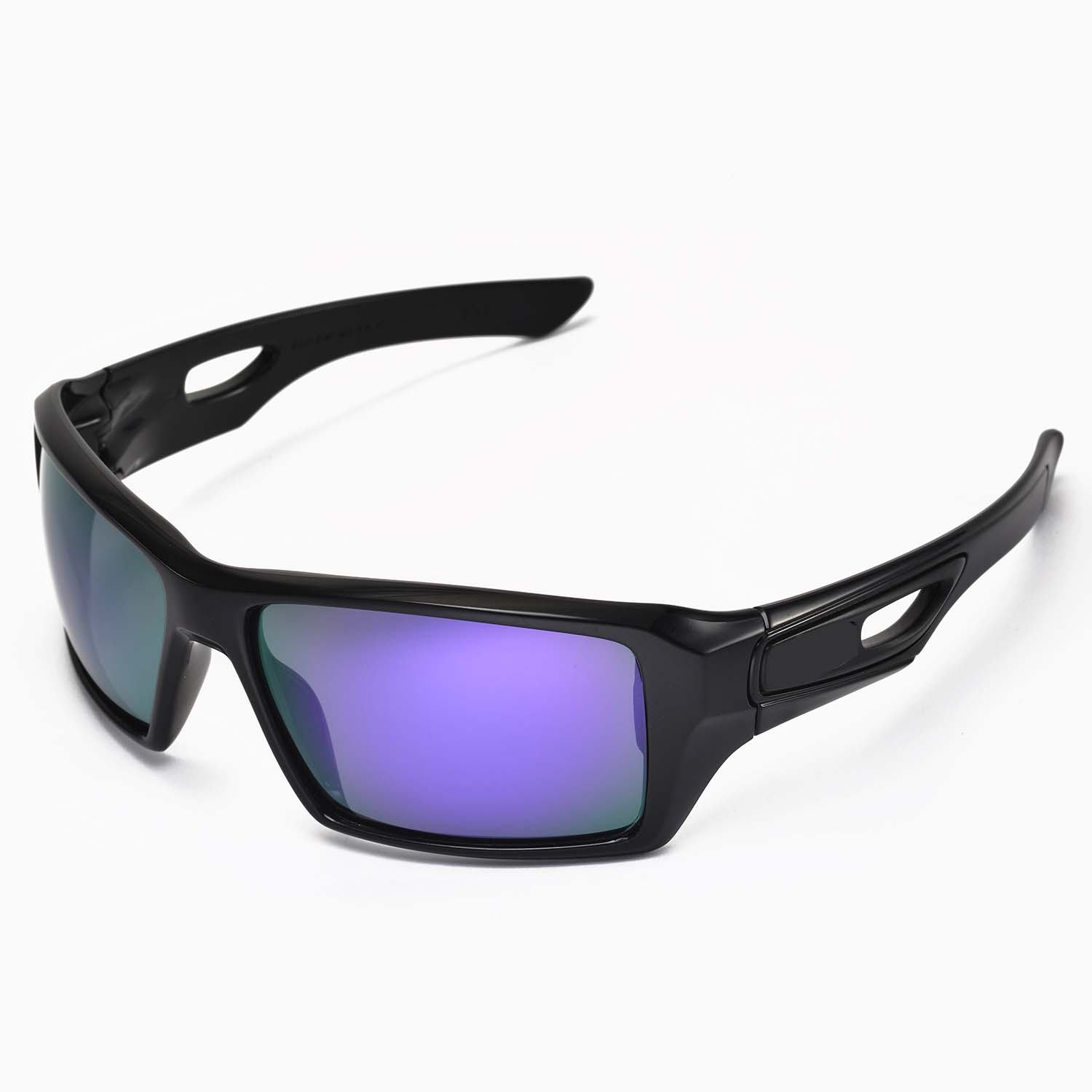 oakley eyepatch 2 polarized sunglasses  new walleva polarized purple lenses for oakley eyepatch 2
