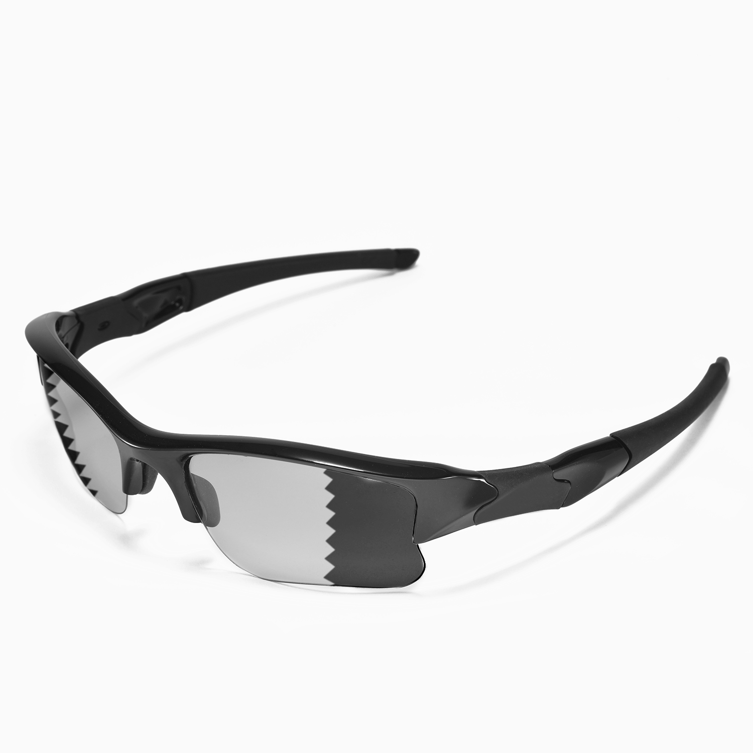 Flak Jacket Sunglasses  new walleva polarized transition photochromic lenses for oakley