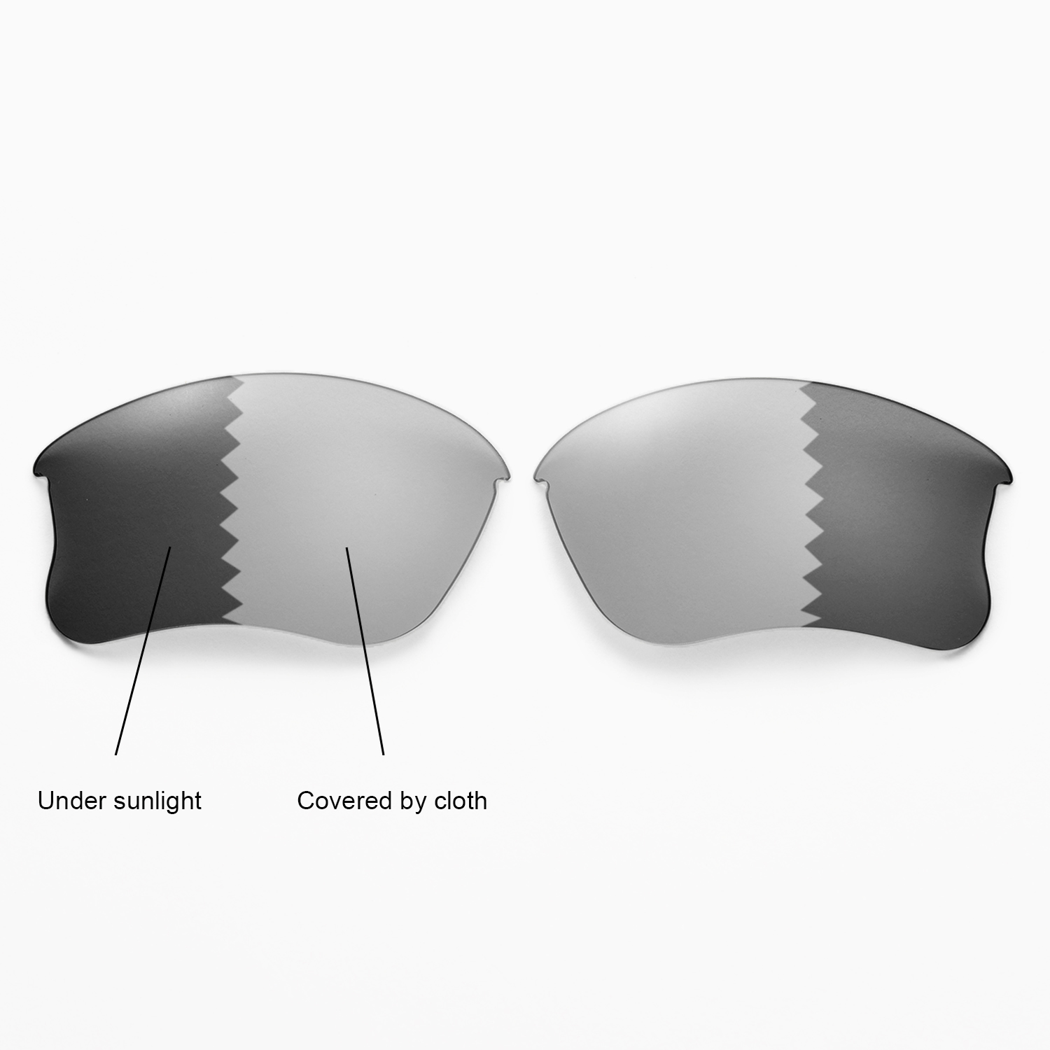 new walleva polarized transitionphotochromic lenses for oakley flak jacket xlj