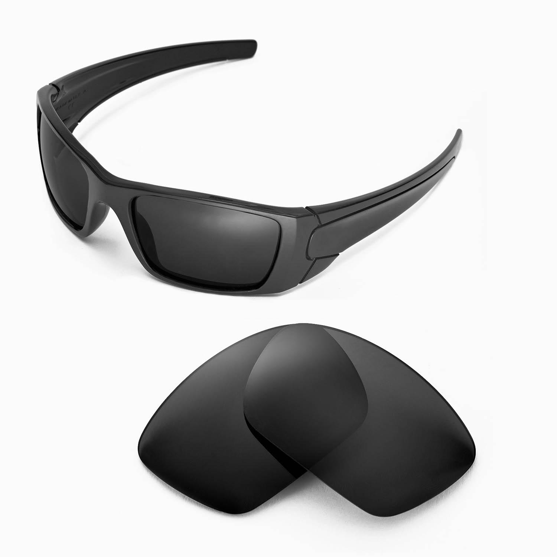 e0d2a278c4b New Walleva Polarized Black Lenses For Oakley Fuel Cell