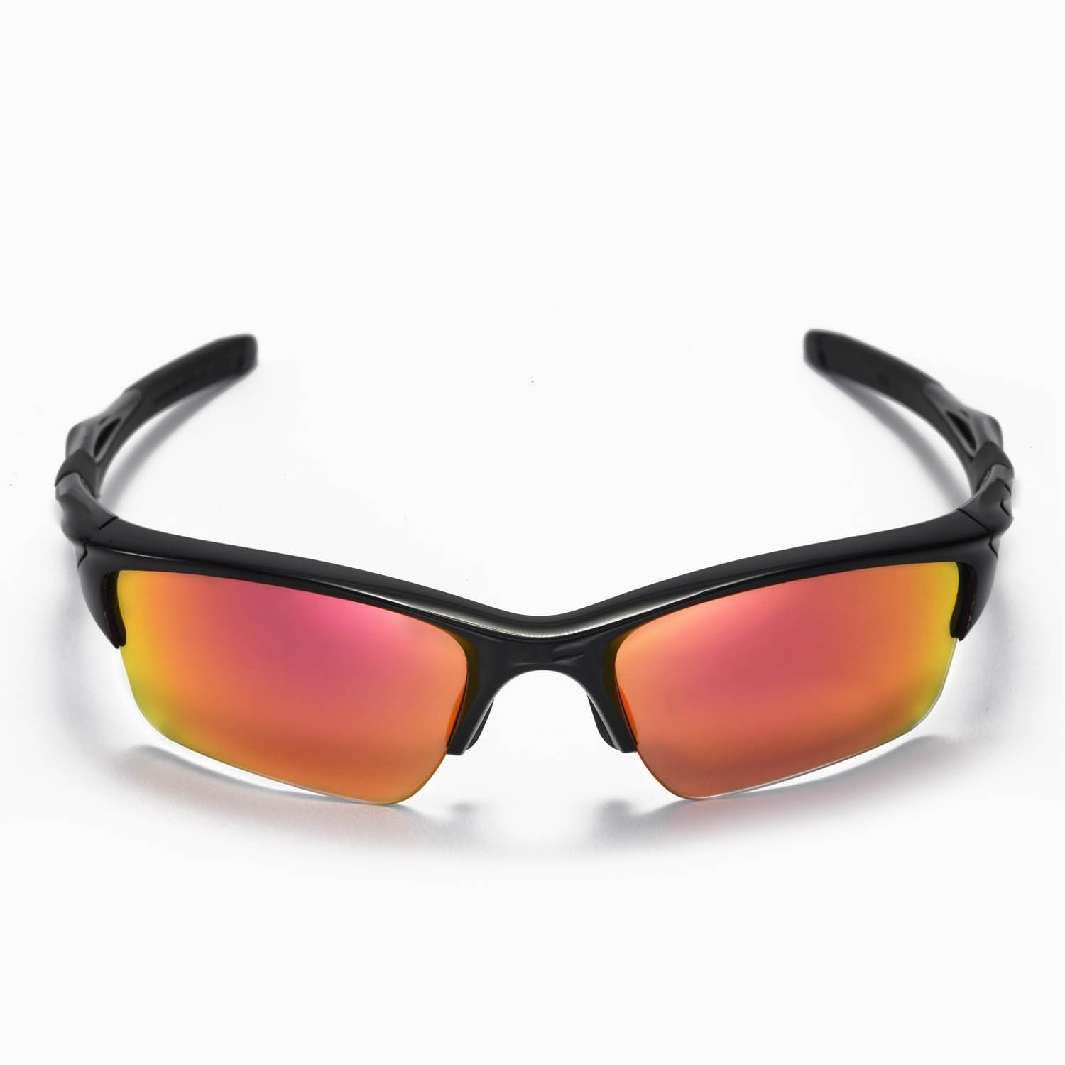 oakley half jacket 2.0 lenses polarized vtma  New Walleva Polarized Fire Red Lenses For Oakley Half Jacket 20 XL