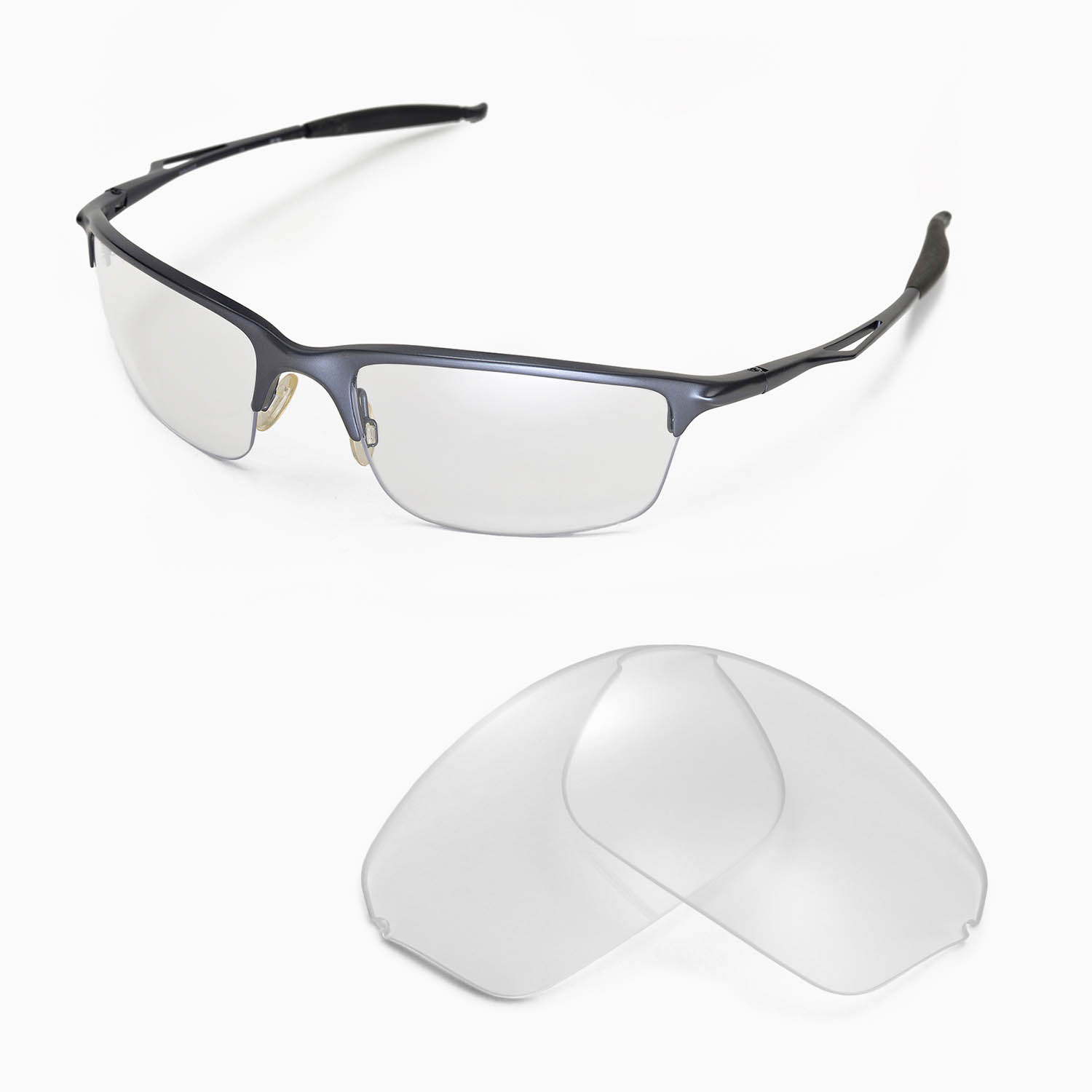 Frameless Glasses Repair Parts : Oakley Half Wires