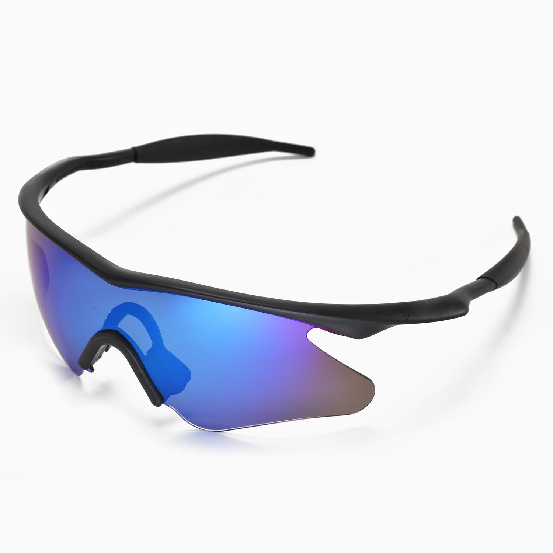 new walleva polarized ice blue lenses for oakley m frame heater