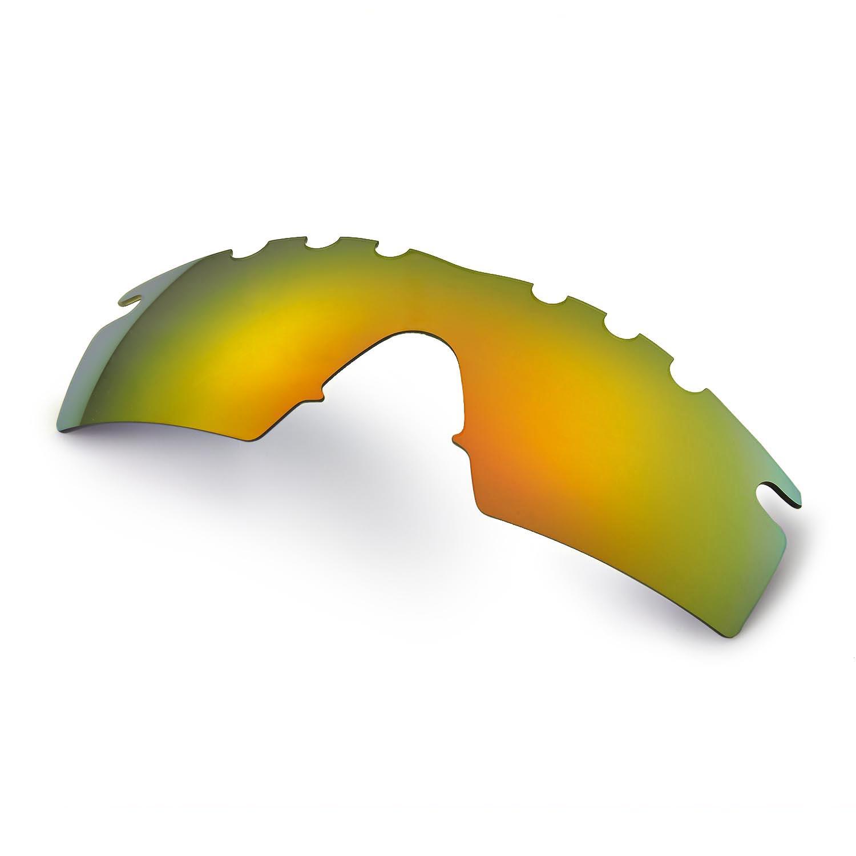 new walleva polarized 24k gold vented lenses for oakley m frame strike