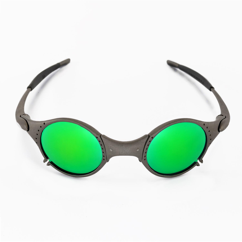 ebay oakley replacement lenses uf9w  New Walleva Polarized Emeraldine Lenses For Oakley Mars
